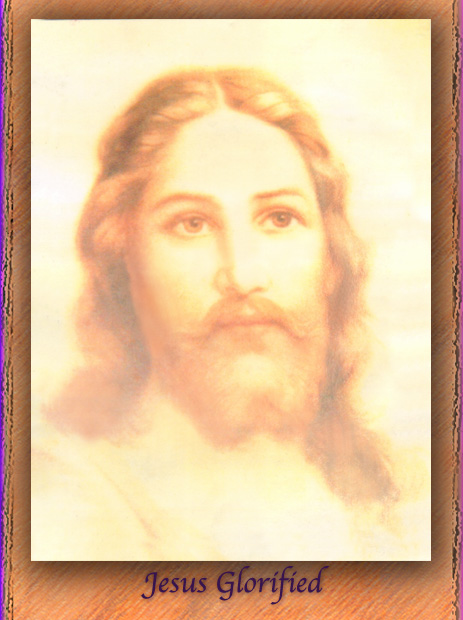 Jesus Glorified, Jesus, Face of Christ, Face of God